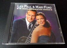 Les Paul & Mary Ford 16 Most Requested REM chansons BEST OF GREATEST HITS 1958-61