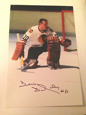 Denis DeJordy SIGNED 4x6 photo CHICAGO BLACKHAWKS