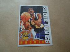 Vignette panini - Basketball 95/96 - N°284 - Eddie Jones - Los Angeles Lakers