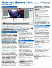 Photoshop Elements 2018 Introductory Training Guide Quick Reference Cheat Sheet