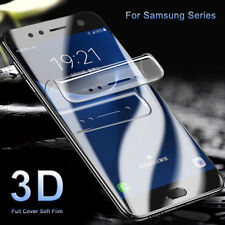 3D Curved Full Cover Soft Screen Protector Film For Samsung Galaxy S8 S9 PLUS