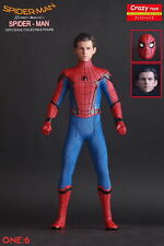 1/6TH SPIDER MAN HOMECOMING 12'' BY CRAZY TOYS DOLL STATUE MODEL GIFT