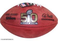 Wilson Super Bowl  L Official Game Football (50) - Denver Broncos