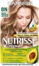 Garnier Nutrisse Nude Medium Blonde Hair Dye Permanent, Grey Hair Coverage