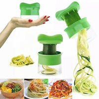 Spiral Vegetable Fruit Slicer Cutter Grater Twister Kitchen Peeler Gadgets Tools