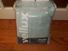 NIP West Point Vellux Mist Gray Plush Heavyweight Fleece Full/Queen Blanket