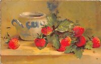 BG33612 strawberry  fruits  catharina klein  nice artist signed