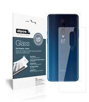 2x OnePlus 7T Pro trasero Protector de Pantalla Vidrio Flexible Cristal