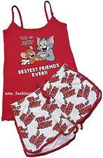 Primark Tom & Jerry Cami Vest and Shorts Pyjama Pajama Pj Set for Ladies Gift