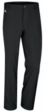 Adidas 3 Stripe Climate Flat Front Stretch Golf Pants Z91449 Black$70 Mens 36x32