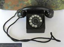WWII 1942 ORIGINAL GERMAN HEADQUARTERS BAKELITE TELEPHONE MARKED V.RARE