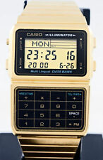 Relojes de pulsera Casio Casio Databank de oro