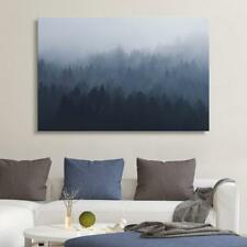 Wall26 - Pine Forest in the Mist Gallery - Canvas Art Wall Decor - 24x36 inches
