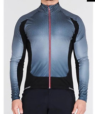 SUGOI RS Zero Long Sleeve Jersey Mens Grey Spotty Size UK S *REF38