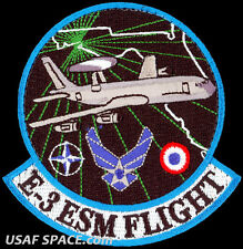 USAF BOEING E-3 SENTRY (AWACS) ELECTRONIC SUPPORT MEASURES FLIGHT- VEL PATCH
