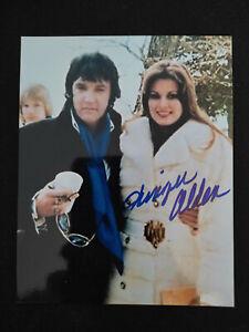 """Ginger Alden """"Elvis Presley - Girlfriend"""" original Autogramm - signed"""