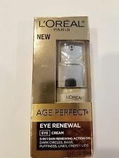 L'oreal age perfect eye renewal eye cream 0.5 ounces