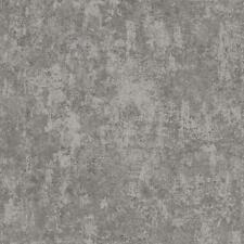 Wallpaper Steel Gray Faux Finish Plaster Look