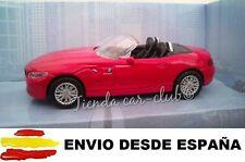 1/43 BMW Z4 ROJO COCHE DE METAL ESCALA COLECCION DIE CAST ENVIO CERTIFICADO
