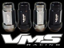 VMS RACING 16 48MM PREMIUM EXTENDED WHEEL LUG NUTS 12X1.5 GUNMETAL BLACK MIX SB6