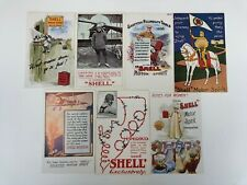 Shell Motor Spirit Reproduction Postcards