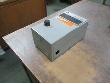 Ge Enclosed Size 0 Starter Cr306b1 24v Coil 18a 600v Used