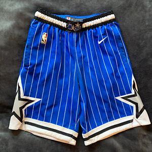 Orlando Magic authentic nike swingman shorts throwback HWC mens small NBA