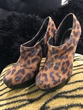NEW!Women's Shoe UK Style, by French Connection Animal Print Stilettos: Size 9