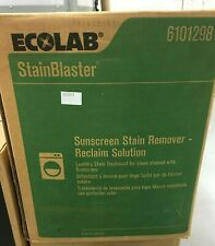 Ecolab 6101298 Stainblaster Sunscreen Stain Remover - Reclaim Solution 45lbs