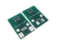 6-Pin FPC Connector to DIP Breakout Board 0.5mm 1mm Pitch - Pack of 3