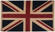 More details for double sided, vintage style union jack flag 60