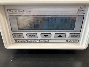 Paroscientific 745-100A 0-100psia Portable Standard