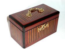 Boîte à thé en marqueterie époque louis XVI 18 e siècle coffret XVIIIe tea box