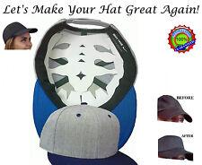 Baseball Cap Web Shaper| Flex fit Cap Liner| Fitted Hat Shaper| Cap Crown Insert