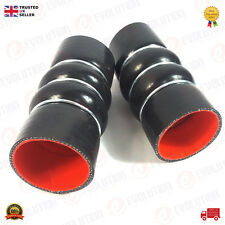 2 X SILICONE INTERCOOLER TURBO HOSE PIPE FORD CONNECT FORD FOCUS 1.8 TDCI