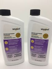 Whirlpool Water Softener Cleanser 16 Ounces White Pack of 2. New!
