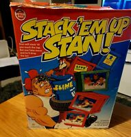 Vintage Retro Game STACK'EM UP STAN! Made by Peter Pan 1994 - See Description