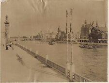 Exposition Universelle de Paris 1900 Grande Photo Vintage albumine
