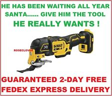 New Dewalt DCS356 20V Cordless Brushless Oscillating Multi-Tool + FREE SHIPPING