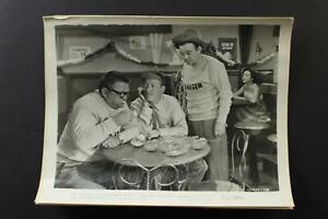 Five ORIGINAL 1952 NO HOLDS BARRED MOVIE STILL PHOTOS~BOWERY BOYS~