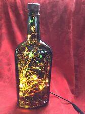 NEW Bling Electric LAMP 750ml MEYERS'S RUM Empty LIQUOR BOTTLE Multi LEDs