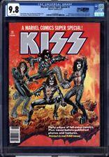 Marvel Comics Super Special #1 CGC 9.8 1977 Kiss Cover! WP! Magazine! M9 201 cm