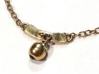 Bijou alliage doré collier créateur breloque Kookaï necklace