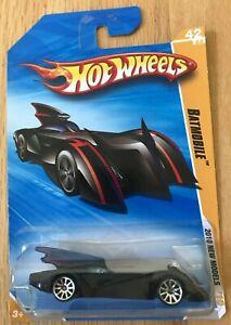 Hot Wheels 2010 New Models - Batmobile - New In Box
