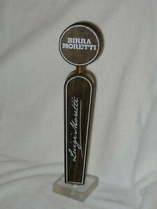 """COLLECTIBLE BIRRA MORETTI BEER TAP PULL 11"""" New with Box"""