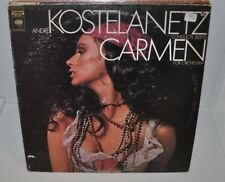 ANDRE KOSTELANETZ Conducts Bizets CARMEN for Orchestra LP Record Sexy Cheesecake