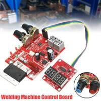Spot Welding Machine Control Board Welder Transformer Digital Display 100A Red