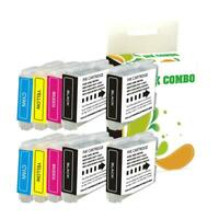 10 pk LC51 ink set for Brother MFC-240C MFC-230C MFC-440CN MFC-230C Printer