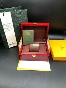 Braun Bordo AUDEMARS PIGUET Watch BOX Holz AP LUXURY Jewelry Truhe Karte SELTEN