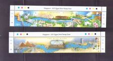 Singapore 2011 ,Singapore-Egypt Joint Issue - Significant Rivers. 2V Mnh w/Magin